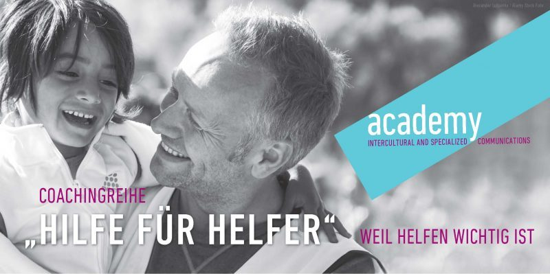 Hilfe fuer Helfer CoverFlyer academy_Cover